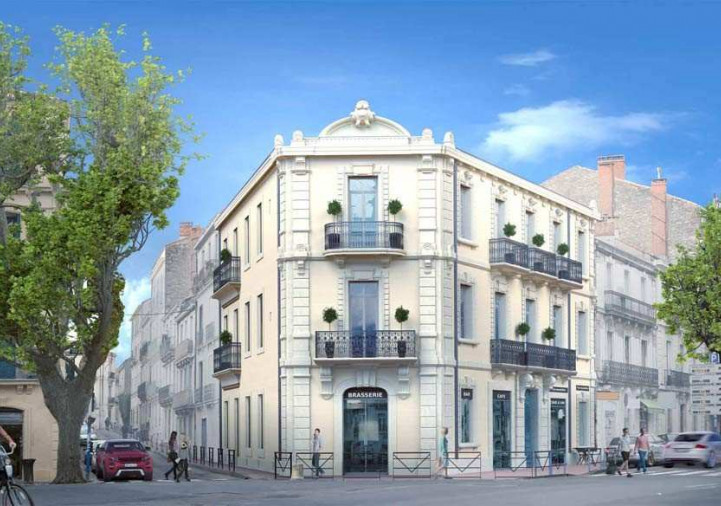 Programme neuf Montpellier Hérault 3432522 Thelene immobilier tournezy