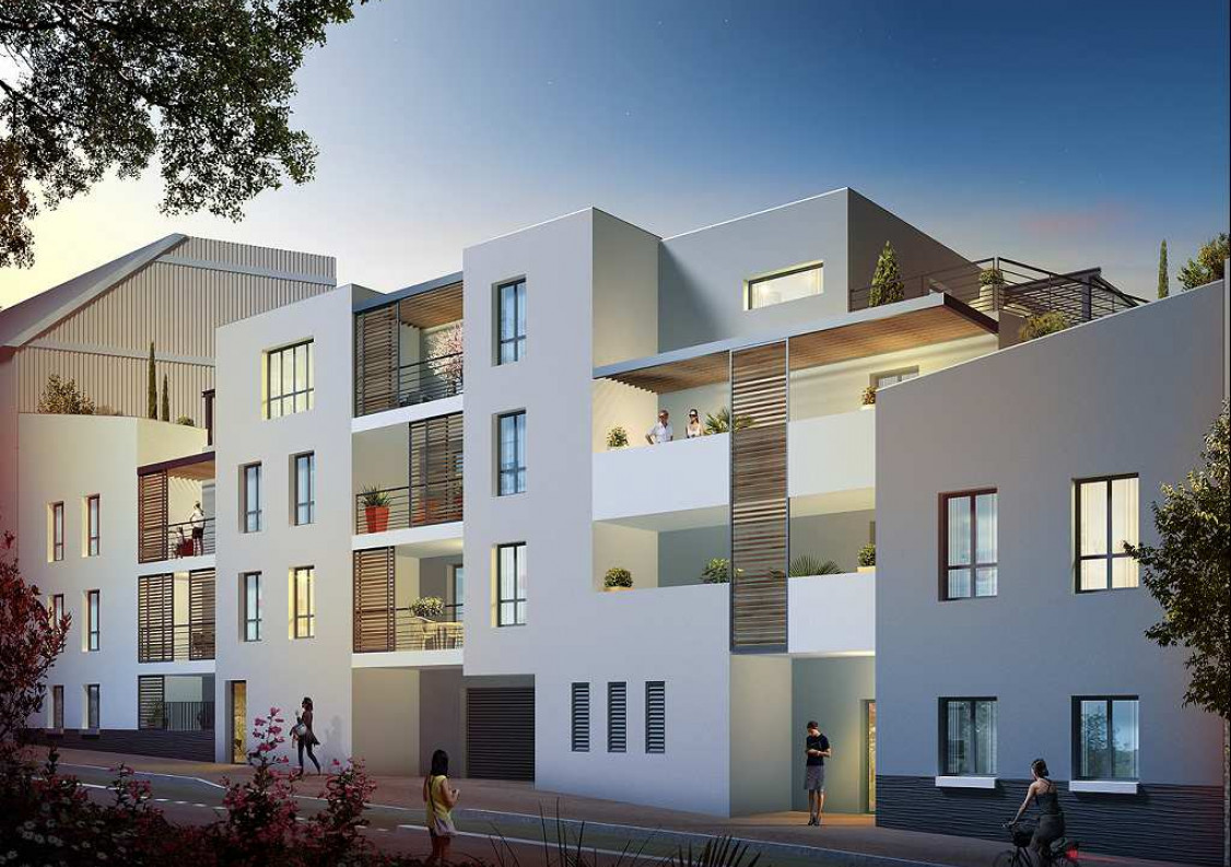 Programme neuf Montpellier Hérault 34380114 Comptoir immobilier de france