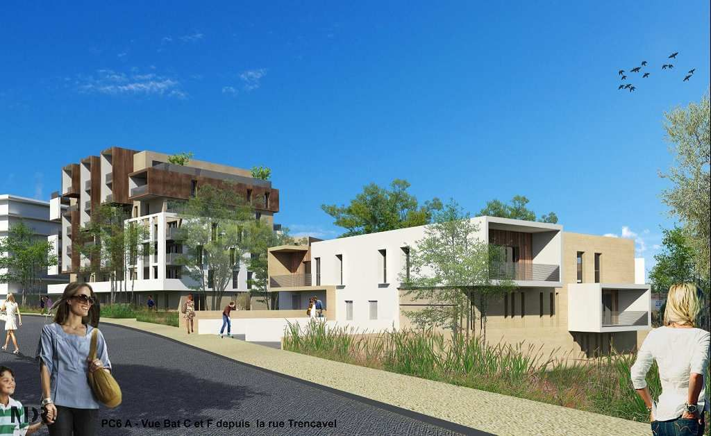 Programme immobilier le domaine des jardins de boheme neuf - Grand garage de l herault peugeot montpellier ...