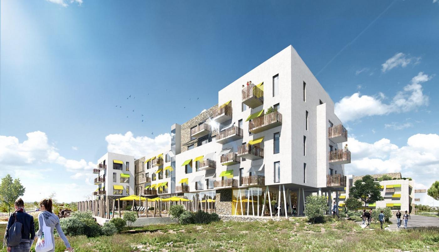 Programme neuf Castelnau Le Lez Hérault 344884 Domis