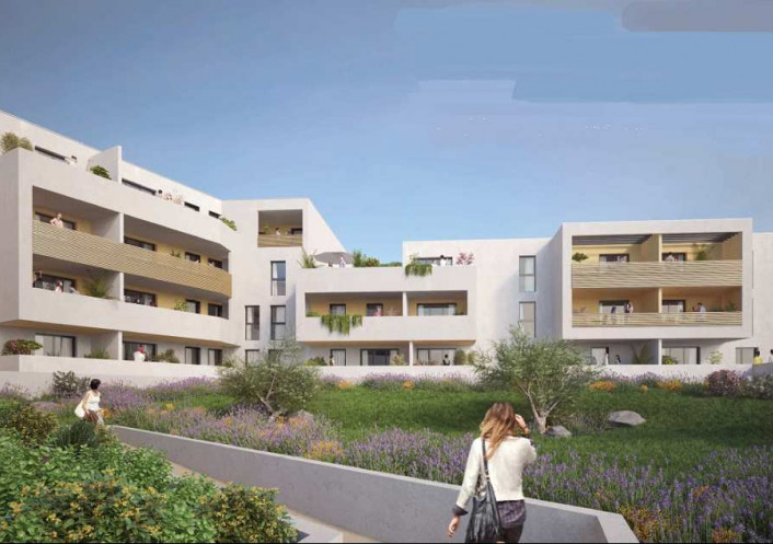 Programme neuf Mauguio Hérault 3450512 Pierre blanche immobilier