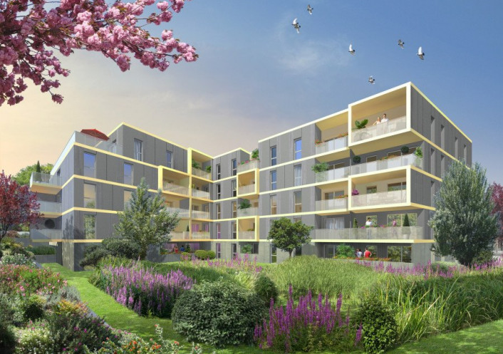 Programme neuf Montpellier Hérault 3450523 Pierre blanche immobilier