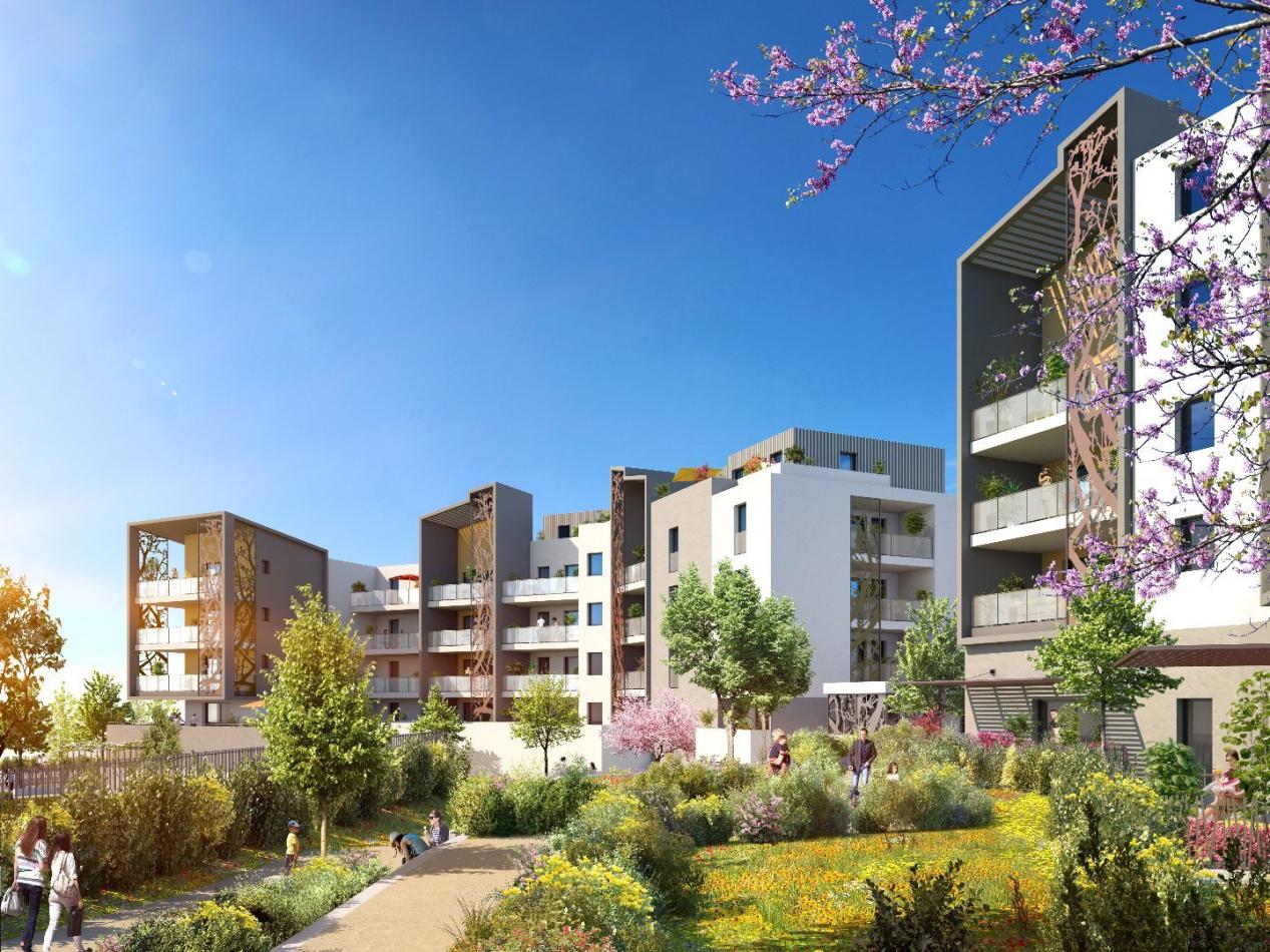Programme neuf Saint Jean De Vedas Hérault 3450528 Pierre blanche immobilier