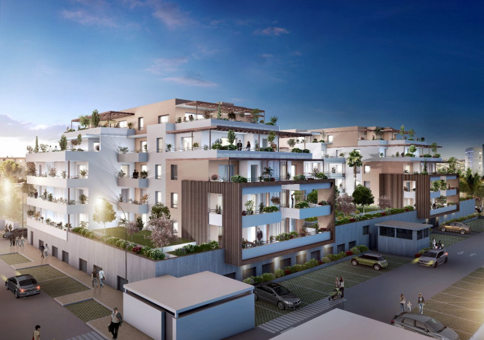 Programme neuf Nimes Gard 3450531 Pierre blanche immobilier