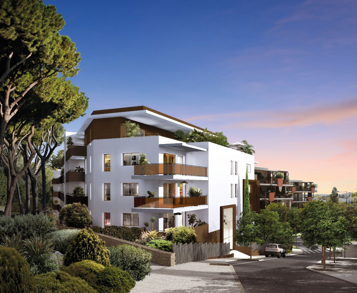 Programme neuf Montpellier Hérault 3450534 Pierre blanche immobilier