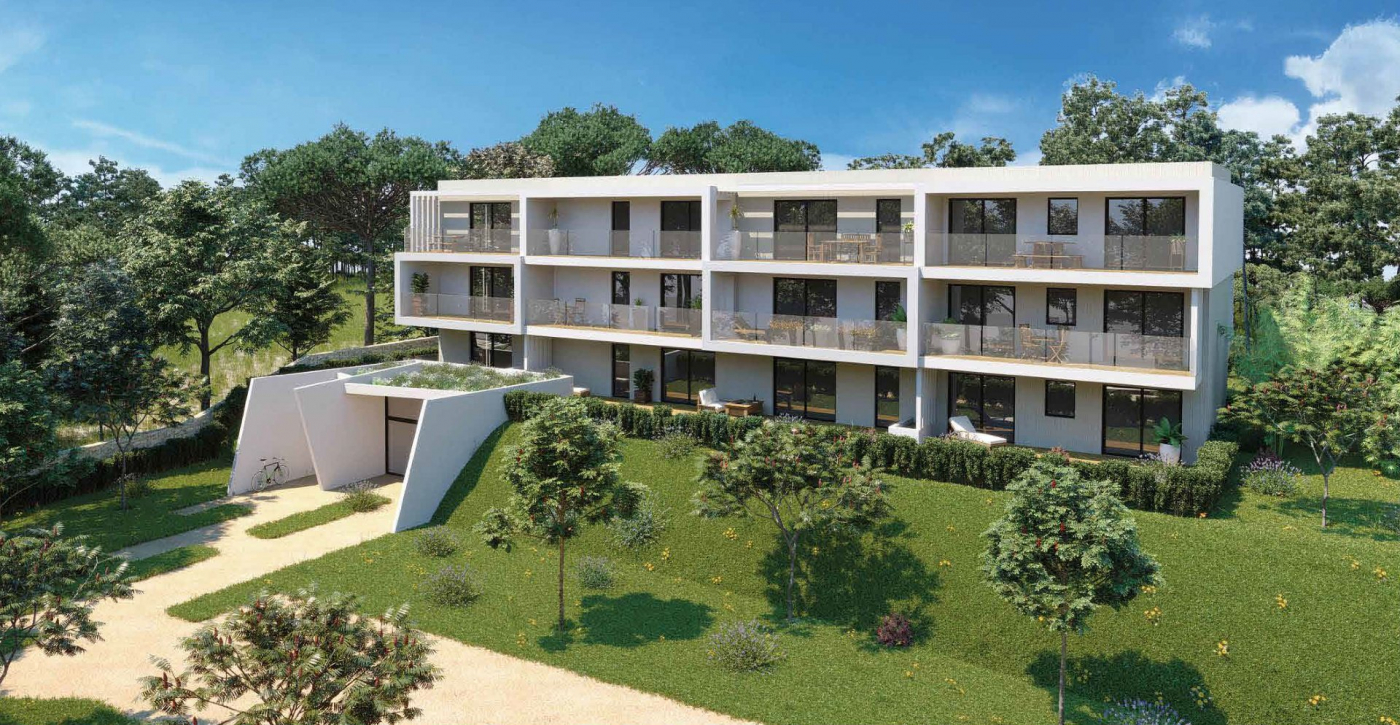 Programme neuf Montpellier Hérault 3450541 Pierre blanche immobilier