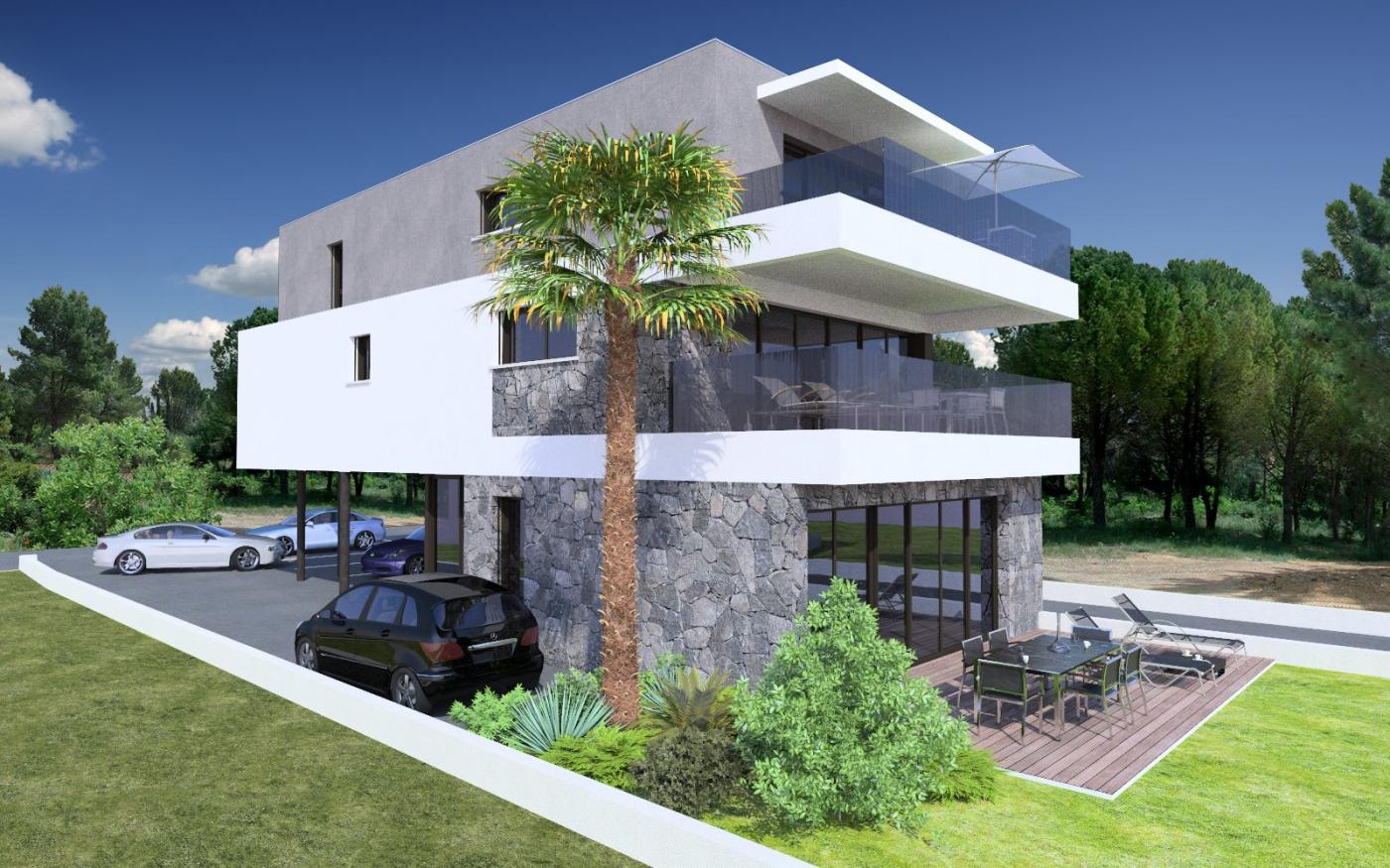 Programme neuf Le Grau D'agde Hérault 3450546 Pierre blanche immobilier