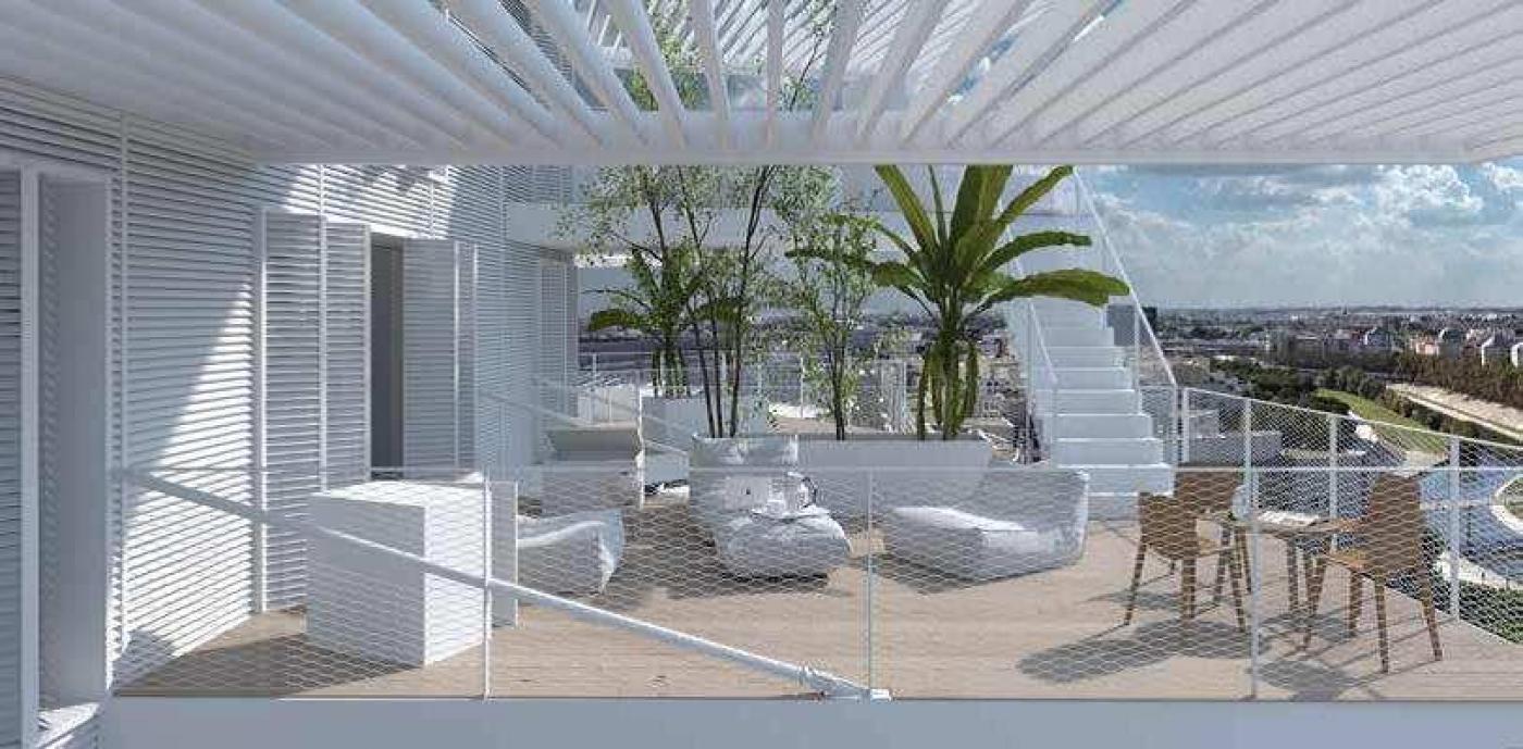 programme immobilier l arbre blanc neuf montpellier r argence immobilier. Black Bedroom Furniture Sets. Home Design Ideas