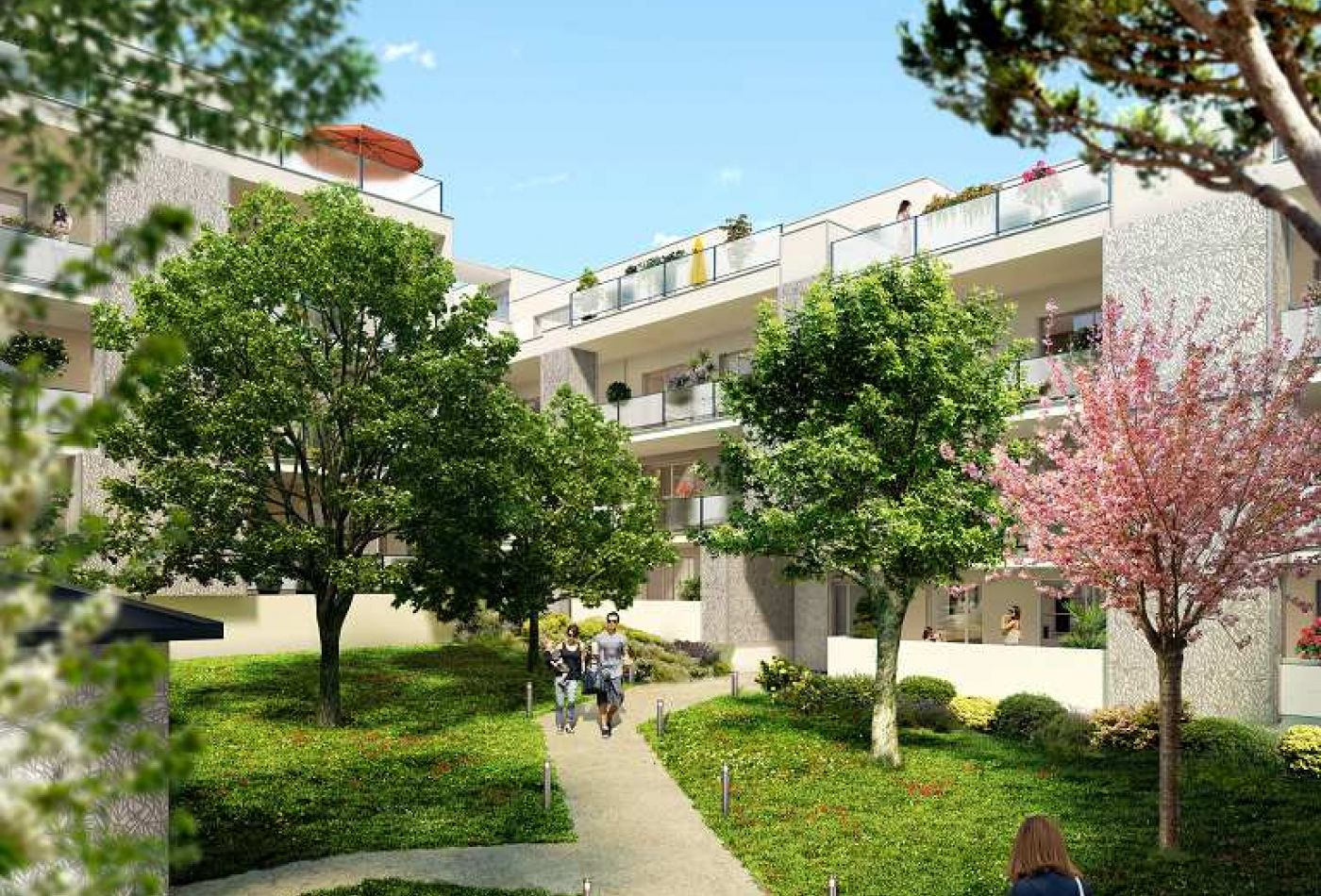 Programme immobilier oaky neuf saint jean de vedas argence immobilier - Saint jean de vedas tram ...