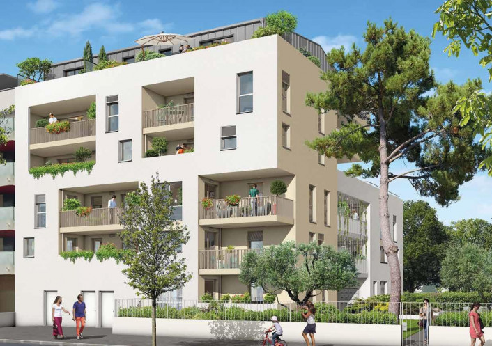 Programme neuf Montpellier Hérault 34533290 Argence immobilier