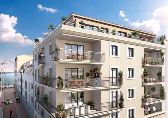 Programme neuf Sete Hérault 3454615 Escale immobilier