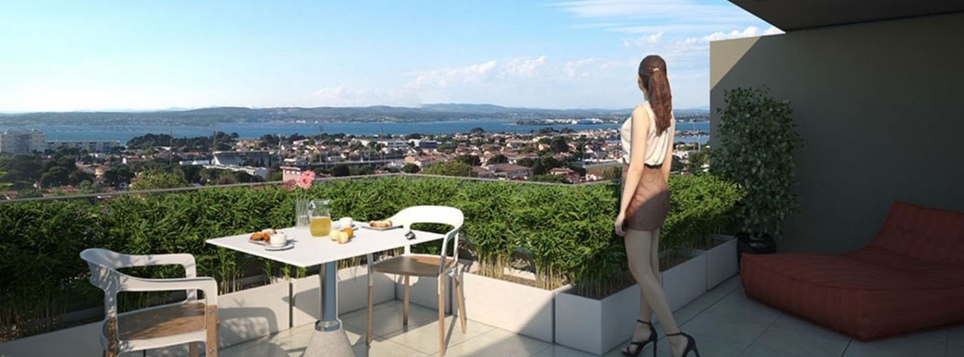 Programme neuf Sete Hérault 345464 Escale immobilier