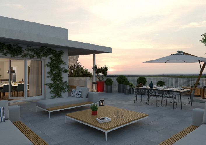 Programme neuf Lattes Hérault 3455615 Opus conseils immobilier