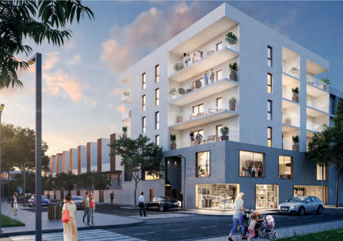 Programme neuf Montpellier Hérault 34556200 Opus conseils immobilier