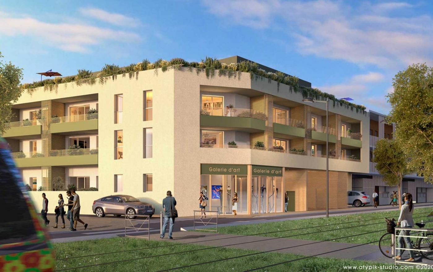 Programme neuf Castelnau Le Lez Hérault 34556272 Opus conseils immobilier