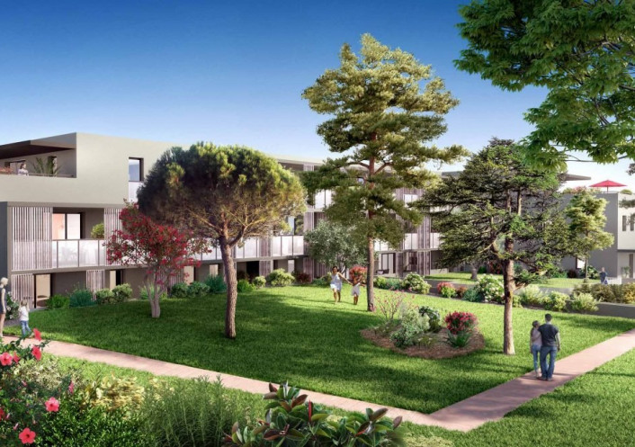 Programme neuf Montpellier Hérault 3455630 Opus conseils immobilier