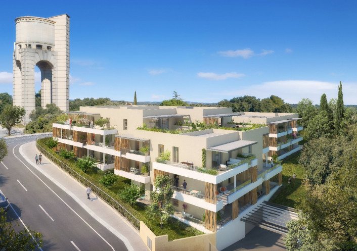Programme neuf Castries Hérault 34556330 Opus conseils immobilier