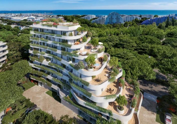 Programme neuf La Grande-motte Hérault 34556341 Opus conseils immobilier