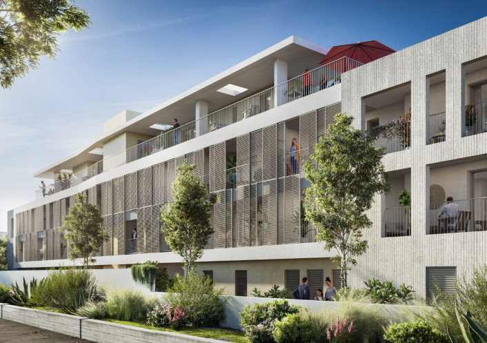 Programme neuf Castelnau Le Lez Hérault 34556368 Opus conseils immobilier