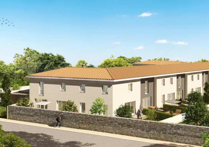 Programme neuf Gallargues Le Montueux Gard 34556380 Opus conseils immobilier