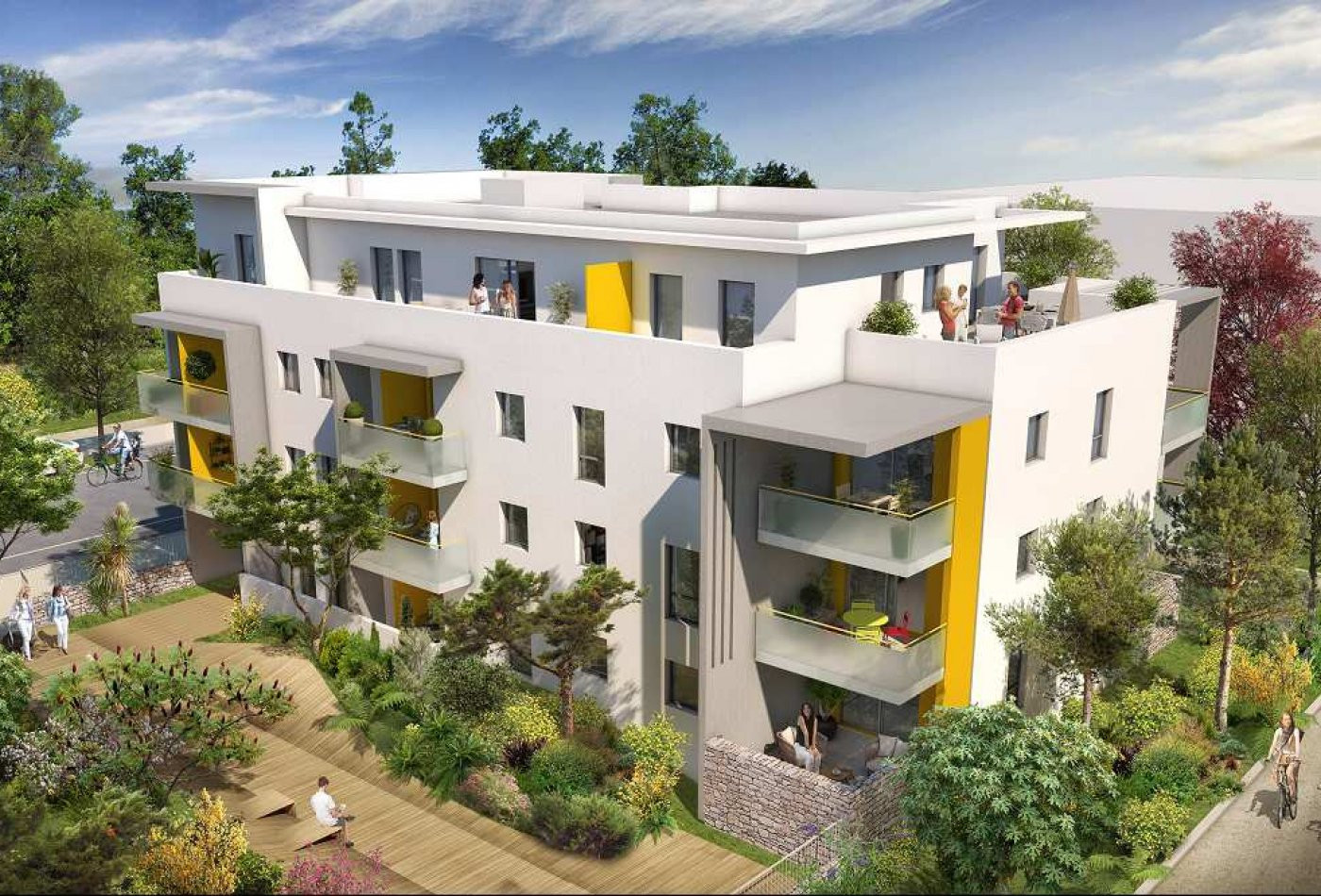 Programme neuf Montpellier Hérault 3455699 Opus conseils immobilier