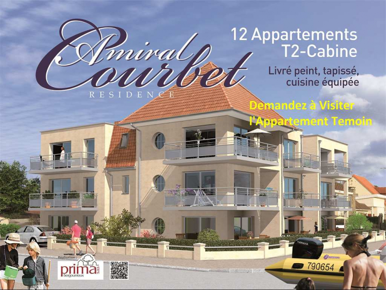 Programme immobilier neuf le courbet merlimont lechevin for Programme neuf immobilier