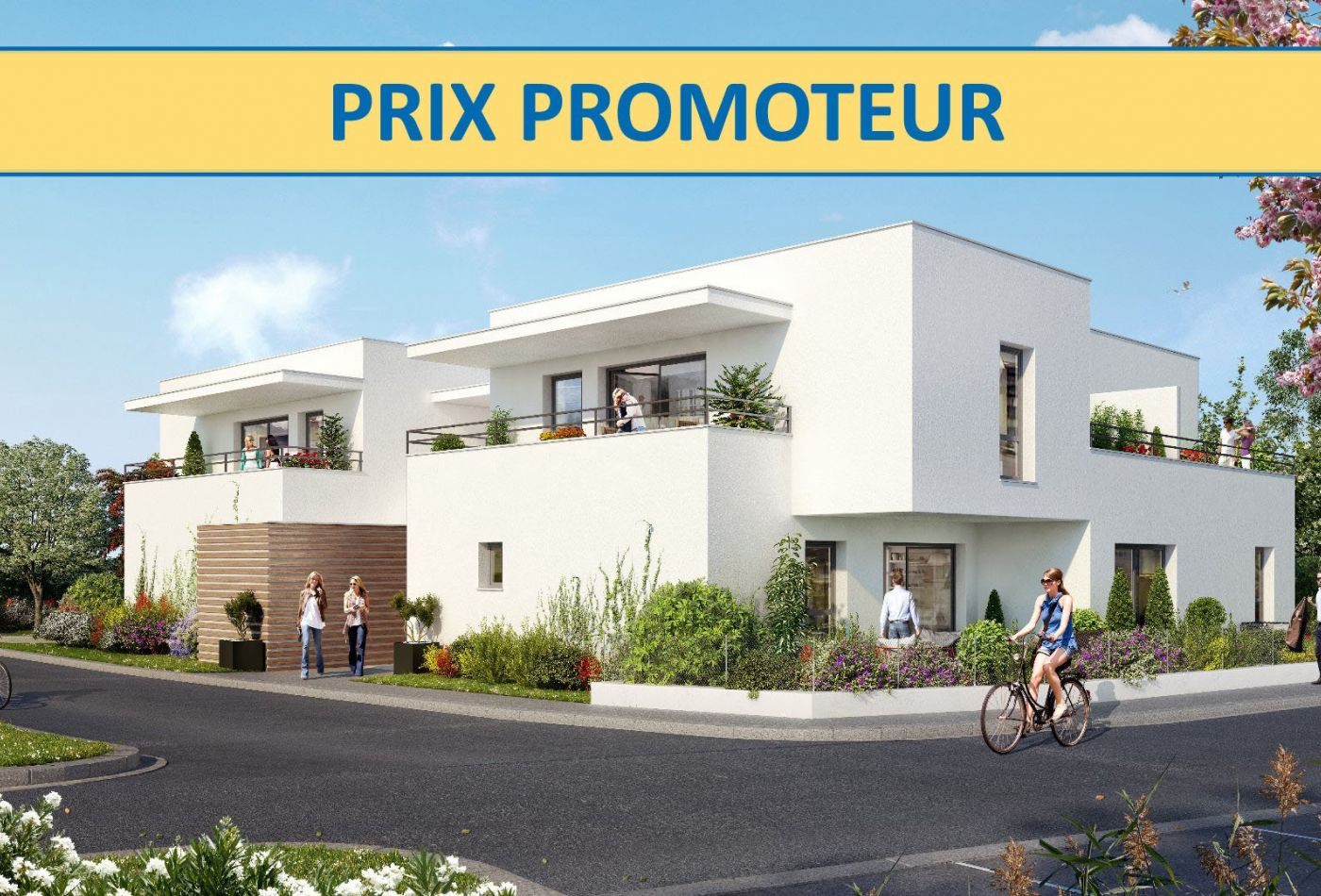 Programme immobilier spring garden neuf anglet aquitaine for Aide achat immobilier neuf