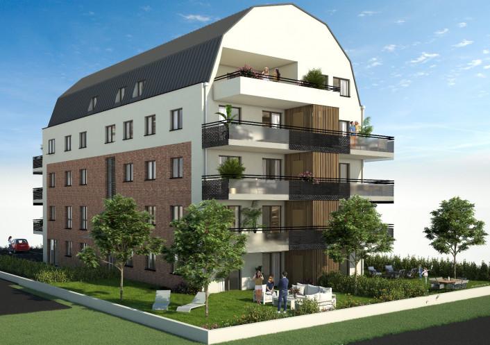 Programme neuf Huningue Haut Rhin 680059 Bischoff immobilier