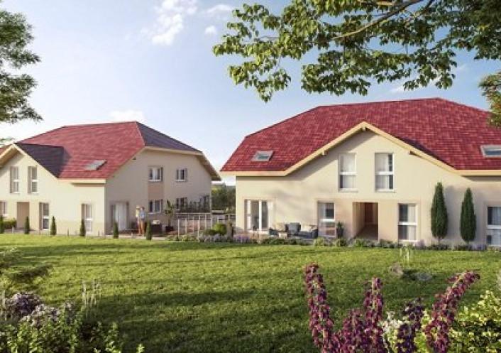Programme neuf Saint Martin Bellevue Haute Savoie 74029101 Nova solution immobiliere