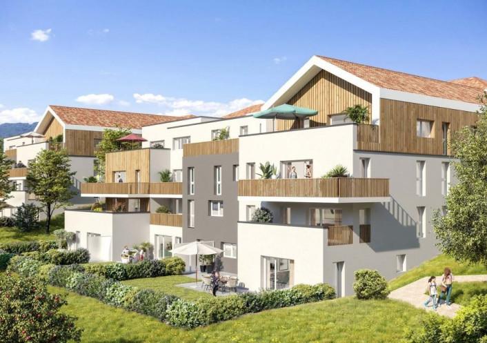 Programme neuf Marigny Saint Marcel Haute Savoie 74029104 Nova solution immobiliere