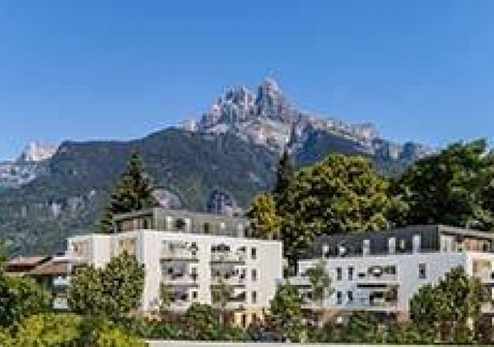 Programme neuf Sallanches Haute Savoie 74029109 Nova solution immobiliere