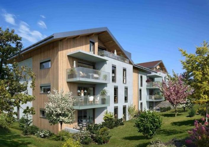 Programme neuf Reignier Haute Savoie 74029122 Nova solutions immobilieres