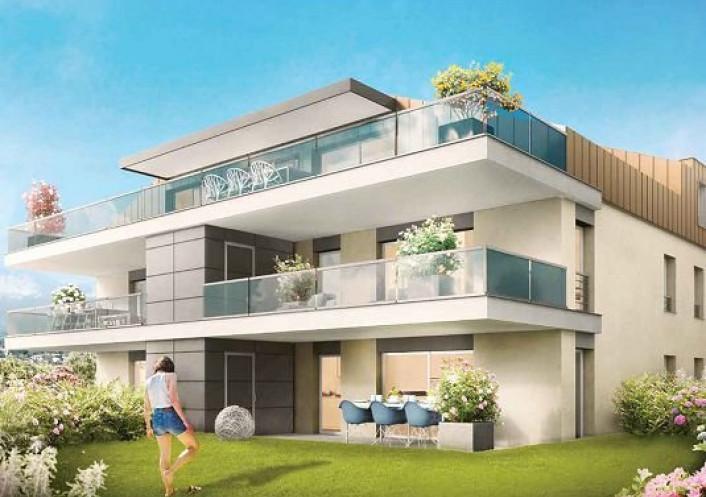 Programme neuf Neuvecelle Haute Savoie 74029129 Nova solutions immobilieres