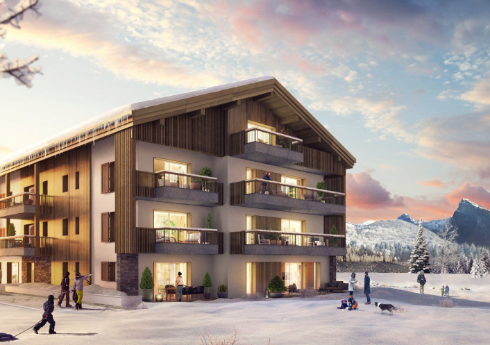 Programme neuf Samoens Haute Savoie 74029143 Nova solutions immobilieres