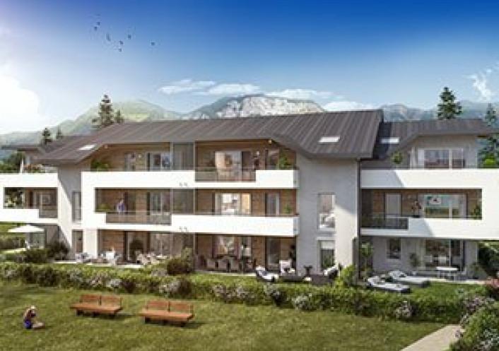 Programme neuf Saint Pierre En Faucigny Haute Savoie 7402916 Nova solution immobiliere