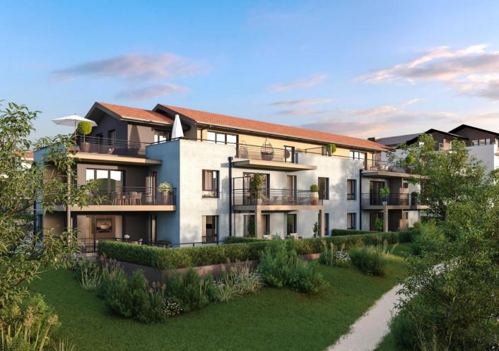 Programme neuf Villy Le Pelloux Haute Savoie 7402944 Nova solution immobiliere