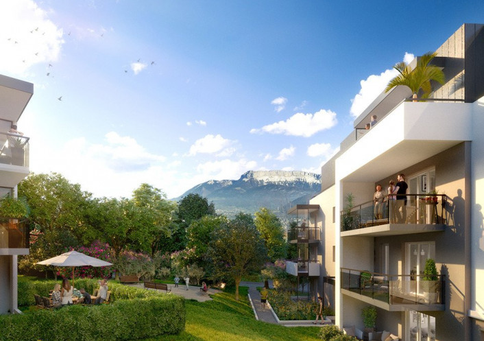 Programme neuf Seynod Haute Savoie 7402959 Nova solution immobiliere