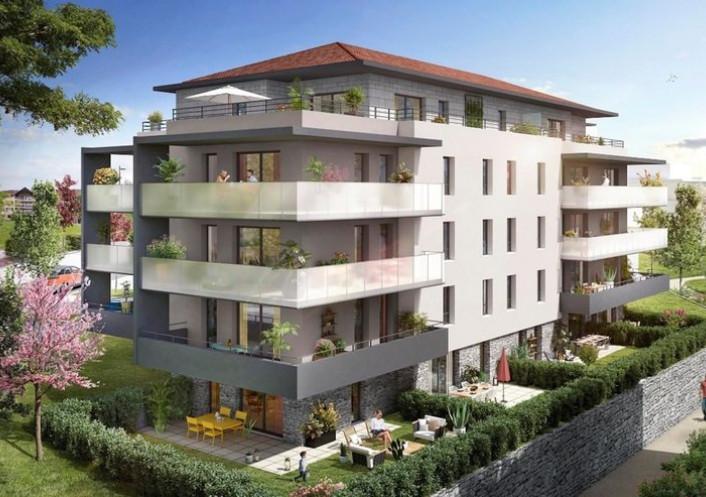 Programme neuf Allonzier La Caille Haute Savoie 740296 Nova solution immobiliere