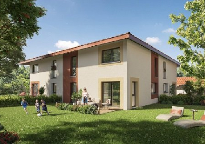 Programme neuf Douvaine Haute Savoie 7402972 Nova solution immobiliere