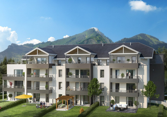 Programme neuf Divonne Les Bains Ain 740298 Nova solution immobiliere