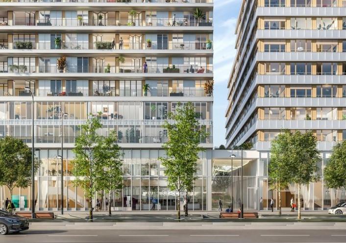 Programme neuf Paris 13eme Arrondissement Paris 7504220 Cj immobilier