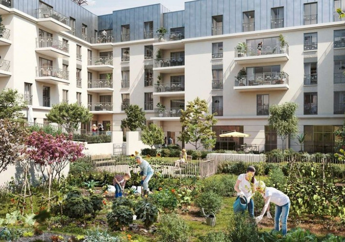 Programme neuf Chatenay Malabry Hauts De Seine 7504226 Cj immobilier