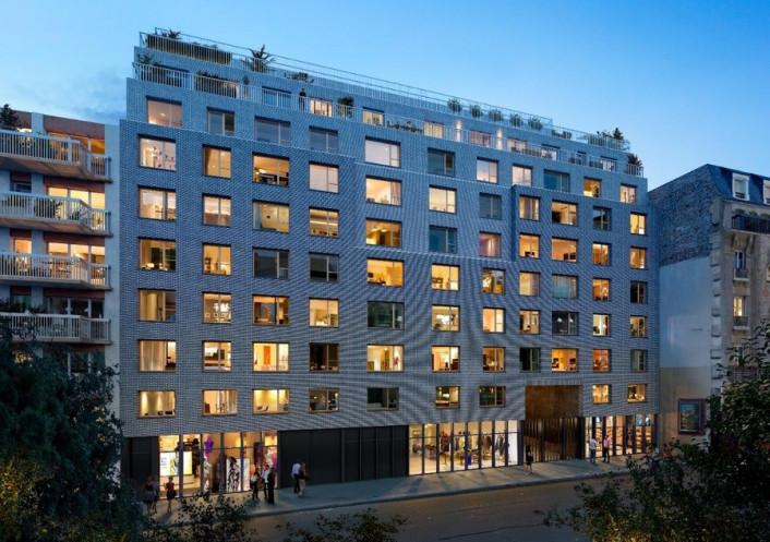 Programme neuf Paris 19eme Arrondissement Paris 7504232 Cj immobilier