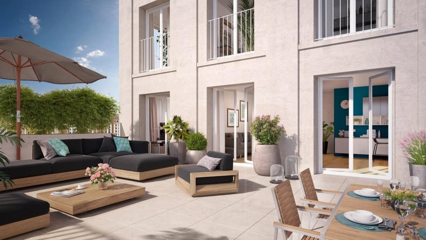 Programme neuf Bobigny Seine Saint Denis 7504237 Cj immobilier