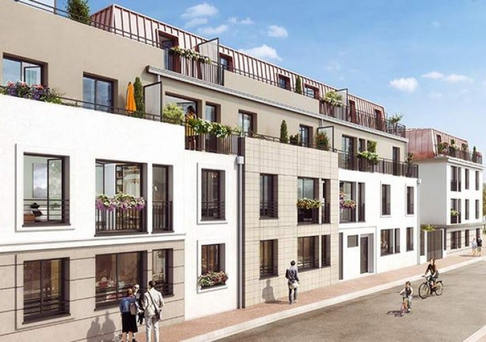 Programme neuf Verneuil Sur Seine Yvelines 7504241 Cj immobilier