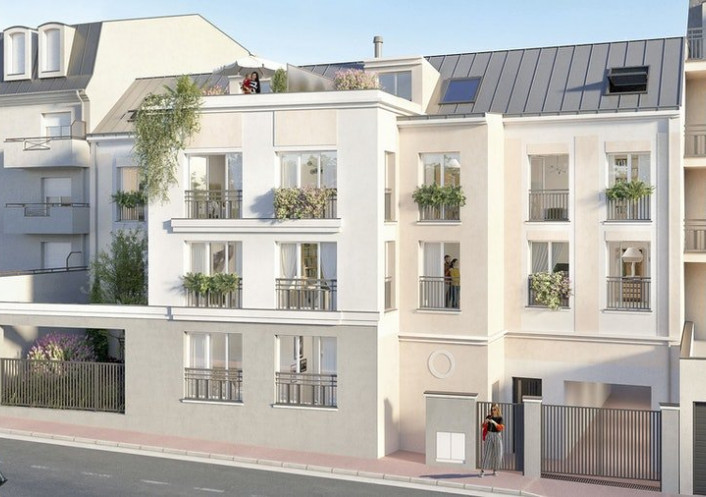 Programme neuf Noisy Le Grand Seine Saint Denis 7504250 Cj immobilier